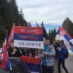 Litija iz Čajniča do Pljevalja: Policija onemogućila ulazak u Crnu Goru (FOTO/VIDEO)