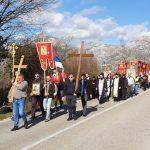 Litija duga 30 kilometara krenula prema Trebinju (FOTO)