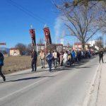 Gačani u litiji krenuli ka Crnoj Gori