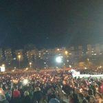 Najmasovnije okupljanje u istoriji Podgorice! (FOTO i VIDEO)