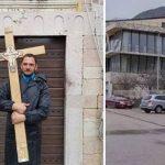 Uhapšen advokat iz Bara koji je pješke preko Budve krenuo na Cetinje (FOTO)