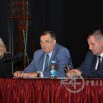 Čelnici SNSD-a na javnoj tribini sa građanima Prijedora (VIDEO)
