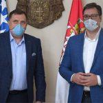 Dodik: Hvala Srbiji na spremnosti da pomogne Srpskoj