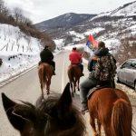 Nedelja u Crnoj Gori, to je slika Boga živoga: Počele litije, iz Vraneške doline do Bijelog Polja