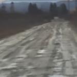 Ovako izgleda put u naselju Vrbice (VIDEO)