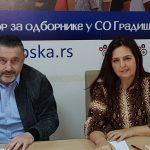 Klubu odbornika Ujedinjene Srpske u Skupštini grada Gradiške pristupila dva odbornika Socijalističke partije (FOTO)