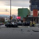 U teškoj nesreći povrijeđeno pet osoba, a dvije su životno ugrožene (VIDEO)