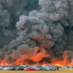 U požaru na aerodromu izgorjelo 3.500 rent a kar vozila