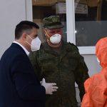 Ruski stručnjaci izvršili dezinfekciju UKC Republike Srpske (FOTO)
