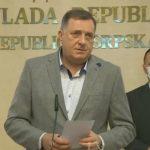 Dodik sa Lukačem i Radončićem o epidemiološkoj situaciji i saradnji (VIDEO)