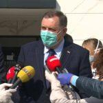 Bolnica Srbija funkcioniše uspješno; Dodik: Obezbijedićemo neophodnu opremu (VIDEO)