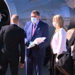Cvijanovićeva i Dodik dočekali Sijarta (FOTO/VIDEO)