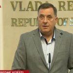 Dodik: BN širi paniku već 10 godina