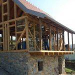 U toku izgradnja replike rodne kuće Branka Ćopića (FOTO)