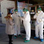 NA PRVOJ LINIJI BORBE SA KORONOM Šeranić posjetio Kliniku za infektivne bolesti UKC RS (FOTO)
