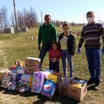 Pripadnici žandarmerije uručili pomoć porodici Gačić