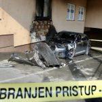 Izgorio automobil strane registracije (FOTO)