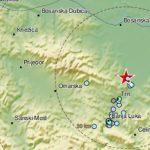 Zemljotres jačine 2,7 stepeni pogodio područje Banjaluke