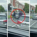 Potukli se na semaforu, jurili po gradu pa se sudarali (VIDEO)