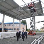 Đaković obišao gradilišta sportskih objekata u Omarskoj (FOTO9