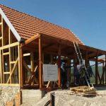 U Hašanima se gradi replika rodne kuće Branka Ćopića (FOTO/VIDEO)