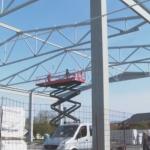 Prva faza izgradnje Sportske dvorane u Omarskoj bliži se kraju (VIDEO)