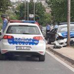 U saobraćajnoj nesreći učestvovalo policijsko vozilo