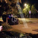 Nesreća u Banjaluci, auto završio na krovu