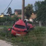 Mladić iz Prijedora teško povrijeđen u stravičnoj saobraćajnoj nezgodi