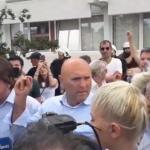 Carević i Radović na slobodi: Uz nas je Bog, policija napala svoj narod kako samo mogu okupatori i izdajnici (FOTO/VIDEO)