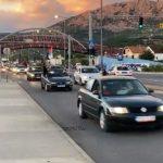 Trobojke i omladina preplavili Podgoricu: Auto litije sa Zlatice, Zete i Careva Laza (VIDEO)