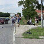 STRAVIČAN SUDAR U nesreći kod Bijeljine povrijeđen motorista