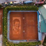 Najveći portret Novaka Đokovića na svijetu napravljen u Beogradu