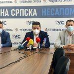 Saopštenje za javnost Ujedinjene Srpske