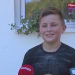 Dvanaestogodišnji Dejan Zorić, sa djedom i bakom uselio u novu kuću (VIDEO)