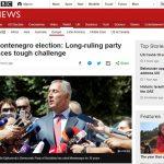 Britanski mediji: Težak udarac Đukanoviću