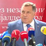 Dodik: Turkovićeva provodi spoljnu politiku SDA (VIDEO)