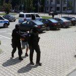 """Akcija """"Skradin"""": Tri lica sprovedena u Okružno javno tužilaštvo (FOTO)"""