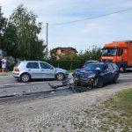 Sudar više vozila na putu Prijedor - Banjaluka, ima povrijeđenih (FOTO)