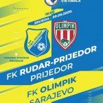 Aleksandar Njegomirović sudi utakmicu 1/16 Kupa BiH Rudar Prijedor-Olimpik Sarajevo