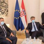 Plenković: Glavna tema razgovora dalji razvoj saobraćajnog povezivanja (FOTO/VIDEO)