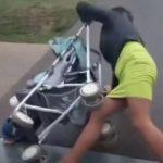Pijana majka razbjesnila zemlju: Pogledajte šta radi sa svojom bebom (VIDEO)