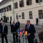 Dodik u posjeti Zagrebu, osude iz Sarajeva (FOTO/VIDEO)