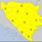 Žuto upozorenje za Prijedor i cijelu BiH zbog grmljavine