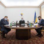 Dodik, Džaferović i Komšić jednoglasno protiv priznanja samoproglašenog Kosova