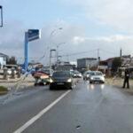 POVRIJEĐEN MOTOCIKLISTA Teška saobraćajna nesreća na putu Prijedor - Banjaluka