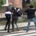 Užas u Zagrebu: Tukao mladića na ulici, prolaznici snimali (VIDEO)