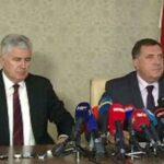 Danas sastanak Dodika i Čovića u Mostaru