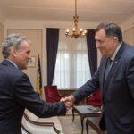 Satler: Dodik odigrao važnu ulogu da se pokrene proces EU integracija