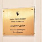 Ikona pohranjena u sef u Kabinetu srpskog člana Predsjedništva